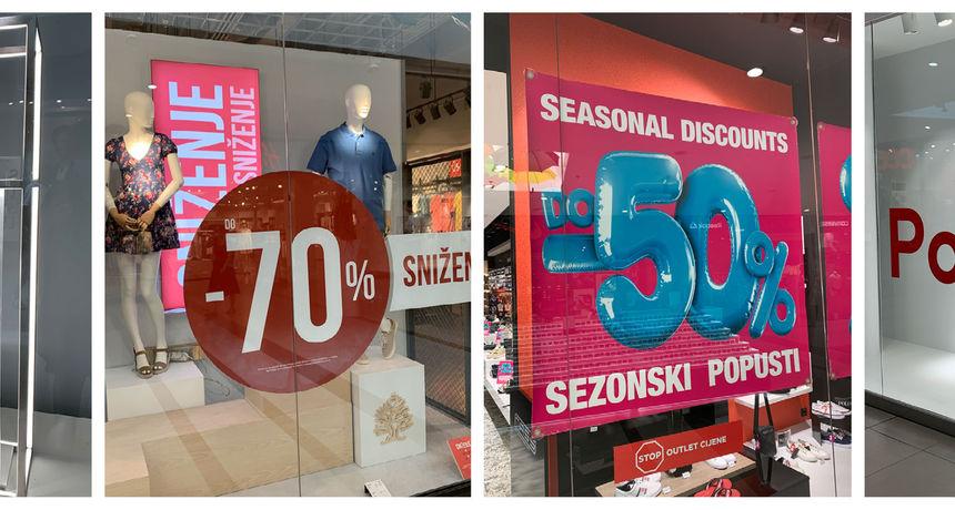 Sezonska sniženja u Portanovi - Iskoristite situaciju i obavite najpovoljniji shopping ove godine