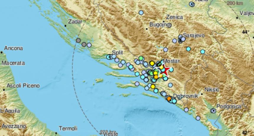 Potres jačine 4,2 po Richteru zatresao BiH: 'Osjetilo se i to dobro, sreća kratko je trajao'