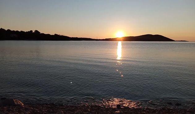 Bonaca & prekrasan zalazak sunca @ Soline (thumbnail)
