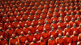 vojna parada Sjeverna Koreja