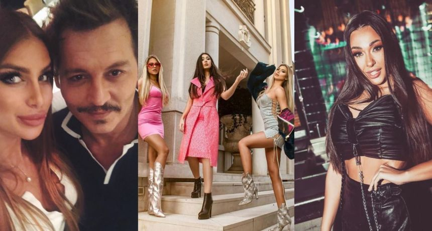 Srbija na Eurosong šalje ove ljepotice: Jednu se povezivalo s Deppom, drugu optuživalo za zavođenje po hotelu, a treća je kći poznatog pjevača