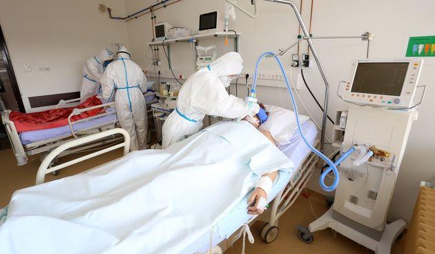 Covid odjel u bolnici u Karlovcu