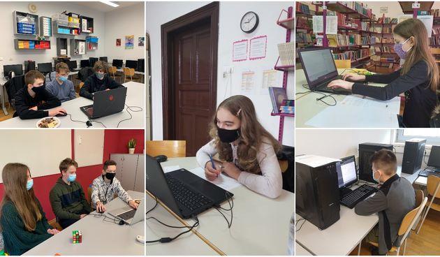 I. OŠ ČAKOVEC Devet učenika sudjelovalo na Državnom natjecanju iz informatike!