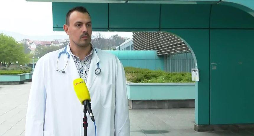 Internist-pulmolog iz KB Dubrava: Klinička slika se puno brže razvija nego u jesen, ali je smrtnost manja