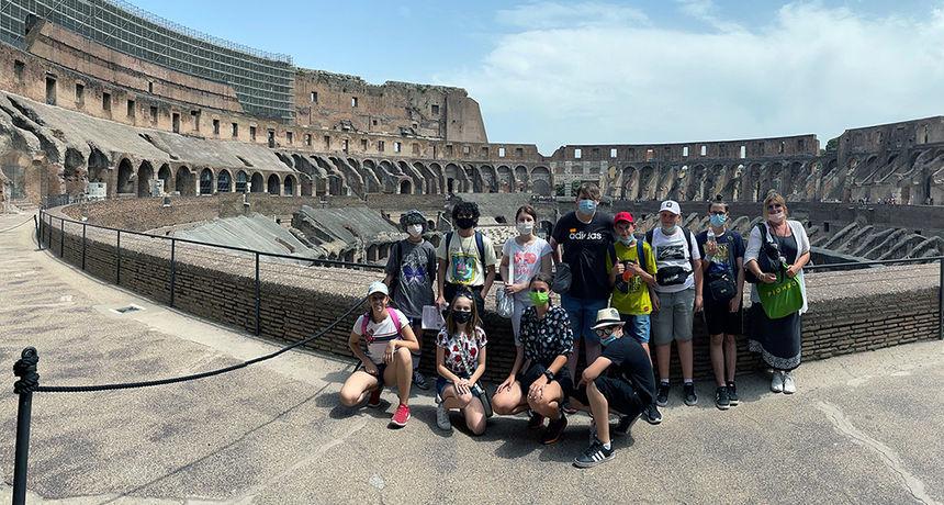 Učenici lepoglavskih škola u Rimu predstavili svoj grad