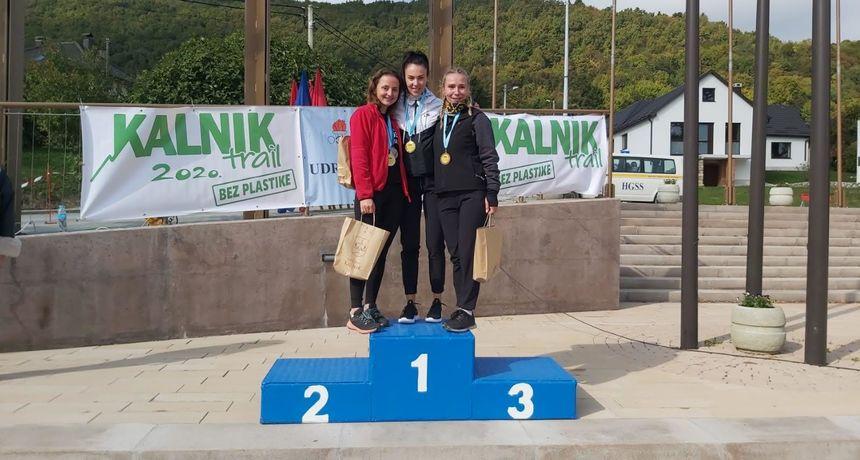 KALNIK TRAIL Valentina Vadlja iz AK Varaždin pobijedila u ženskoj utrci dugoj 16 kilometara