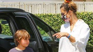 Alessandra Ambrosio i sin Noah Phoenix