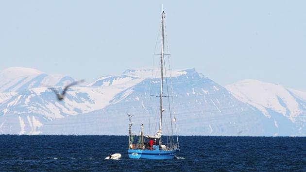 svalbard sjeverni pol led norveška globalno zatopljenje klima getty