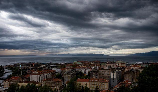 vrijeme prognoza oblaci kiša rijeka