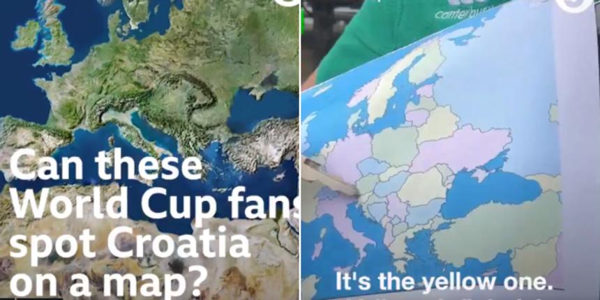 VIDEO Upitali Engleze znaju li gdje se Hrvati nalaze na karti: Evo s čime nas povezuju