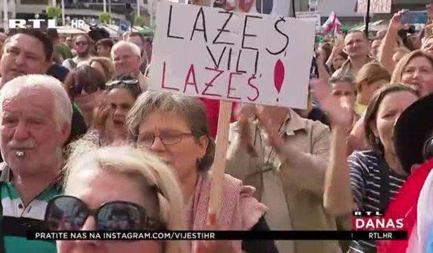 'Nuspojava je neplodnost, cjepivo je genocidno...'; Ovo su neke od poruka s Festivala slobode: Donosimo sve detalje okupljanja u centru Zagreba (thumbnail)