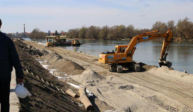 Izgradnja šetnice kroz Osijek prema Donjem gradu
