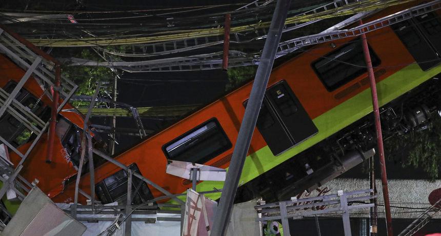 Dramatična nesreća u Meksiku: 15 mrtvih i 70 ozlijeđenih nakon što se nadvožnjak djelomično srušio na cestu
