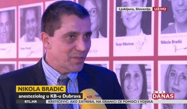 Hrvatski anesteziolog dr. Nikola Bradić osvojio medicinskog Oscara (thumbnail)