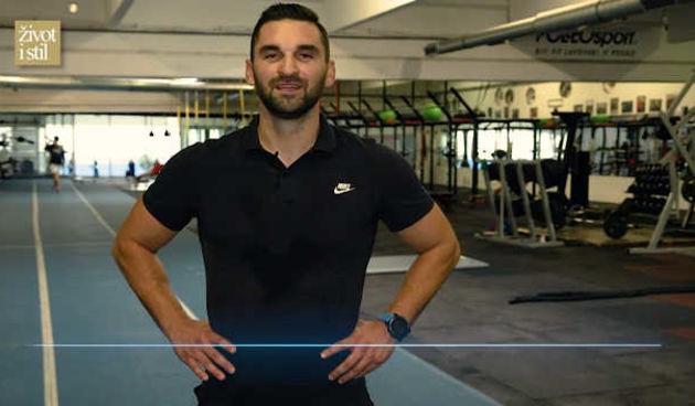Ivan Brkljačić otkrio kako pravilno vježbati: Atletski trening (thumbnail)