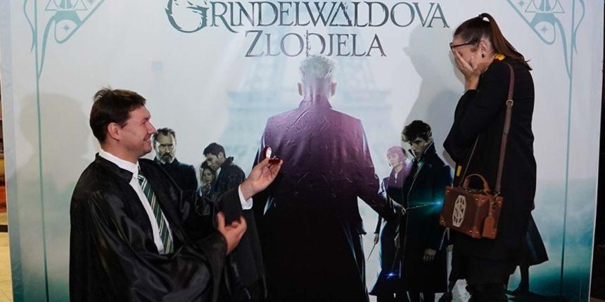Događa se i u Hrvatskoj: na fan projekciji filma pala prosidba!