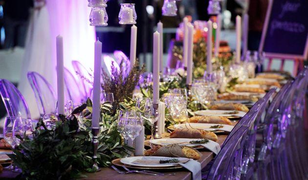 vjenčanje večera svečani stol