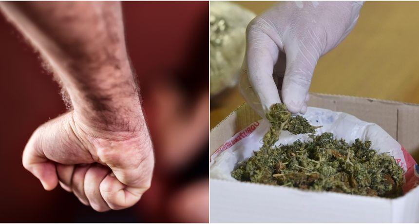 Policija mu upala u stan zbog obiteljskog nasilja i slučajno mu raskrinkala biznis s marihuanom