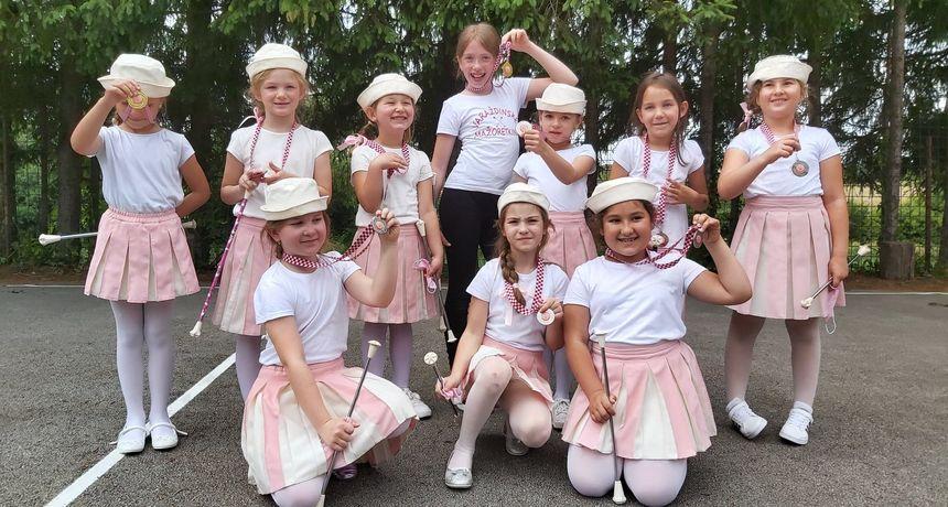 Varaždinske mažoretkinje osvojile brojne medalje, slijede upisi i nastupi