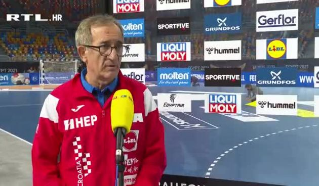 Lino Červar nakon pobjede Danaca: