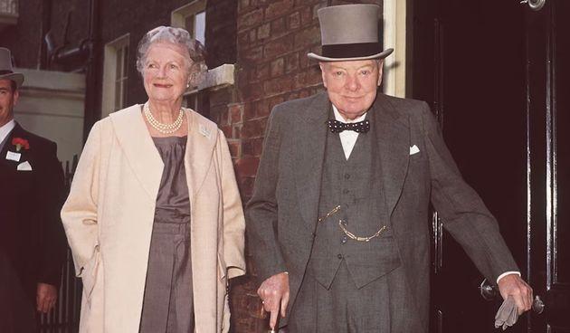 8.  Winston Churchill i Clementine