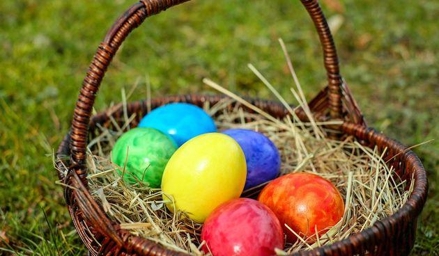 Uskrs, pisanica, pisanice, jaja obojena