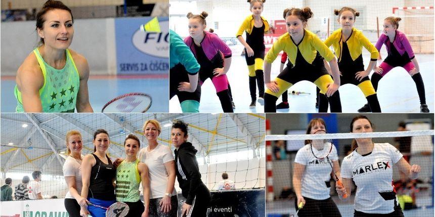 FOTO Pogledajte kako je bilo na Humanitarnom badminton turniru u TTS-u