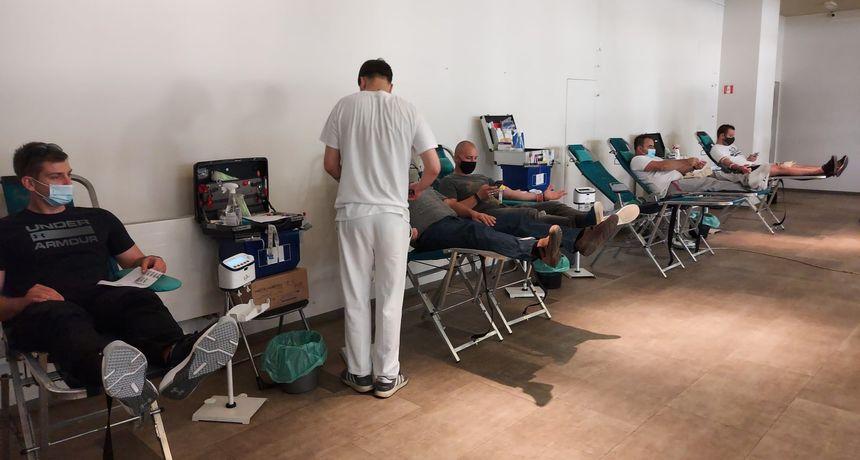 U današnjoj akciji dugoreškog Crvenog križa prikupljeno 75 doza krvi, oko 15 posto manje nego prije korona krize
