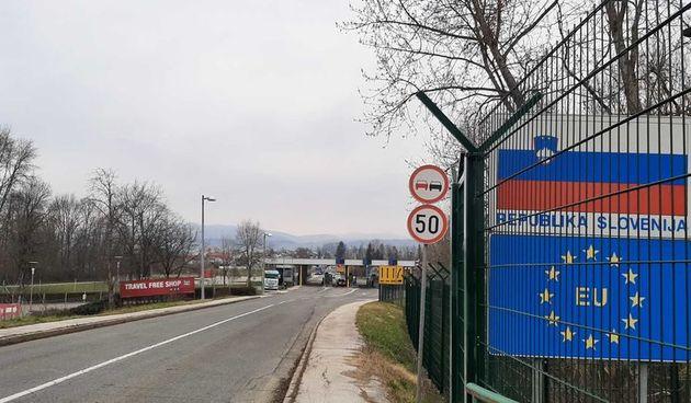 Usprkos padu ilegalnih migracija slovenska Vlada pozvala pojačanje na južnu granicu - u Metliki i Črnomlju patroliraju EU policajci