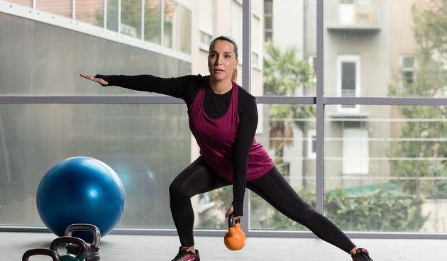 'Mama u formi': Vježbe s girjama različitih težina