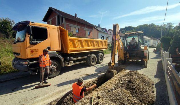 Provode se kapitalni projekti u Varaždinskim Toplicama: Izmještanje dalekovoda, uređenje vodotoka, uređenje cesta…
