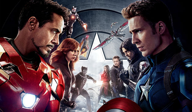 Kapetan Amerika : Građanski rat - TV premijera