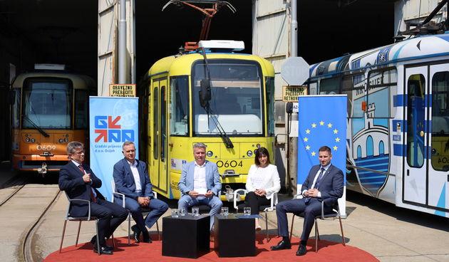 Osijek kreće u modernizaciju tramvajske mreže, a kroz tri godine planira imati najmoderniji gradski prijevoz