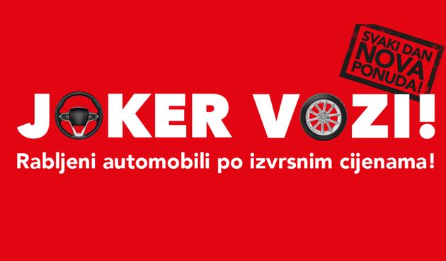 Joker vozi u AutoZubaku po izvrsnim cijenama