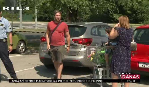 Važaradinska policija tražila djecu u autu (thumbnail)