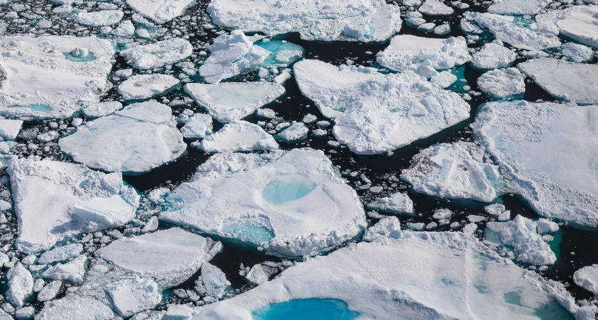 Iz arktičkog leda otpuštaju se visoke koncentracije opasnih 'vječnih' kemikalija