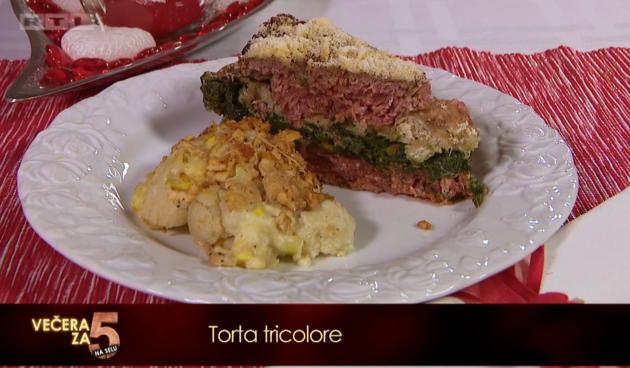Recept za 5: Torta od mesa tricolore