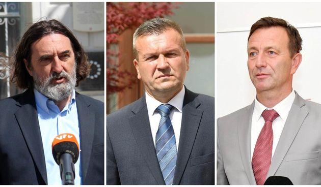 Ivan Čehok, Anđelko Stričak, Neven Bosilj
