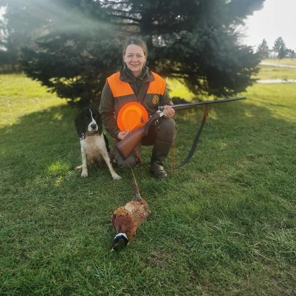 MARIJANA JUREN Prije devet godina zavoljela lovca Danijela, a s njim i lovstvo