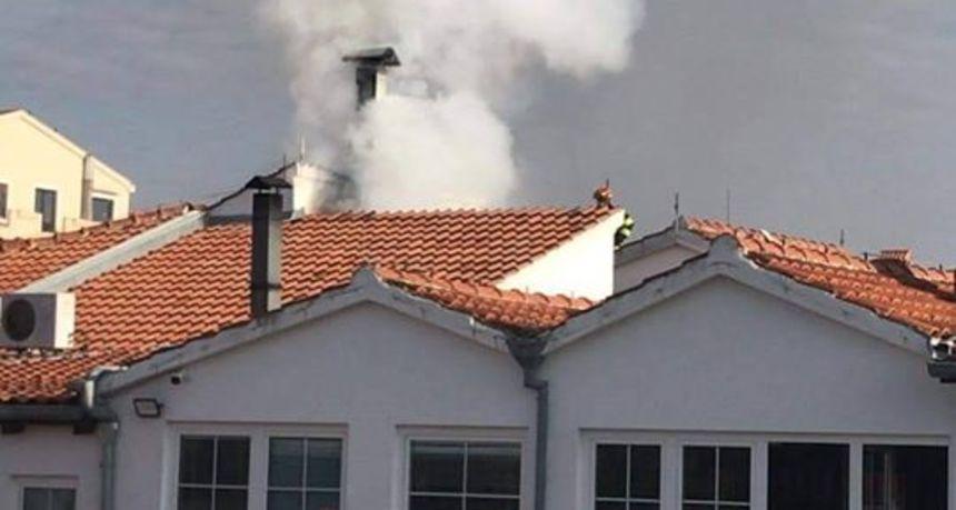 Izbio požar u restoranu Šime, vatrogasci ga brzo stavili pod kontrolu