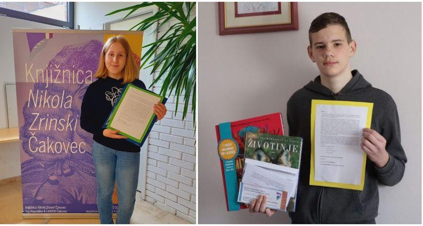 OŠ GORNJI MIHALJEVEC Kim Košir i Luka Tomašić napisali basnu i osvojili nagrade