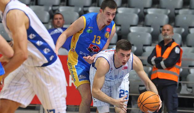 HT Premijer liga, 6. kolo: KK Zadar - KK Vrijednosnice Osijek 86-78