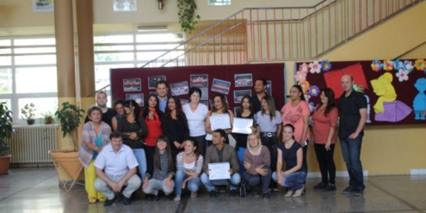 Dodjeljenje diplome u sklopu projekta Otvorena učionica