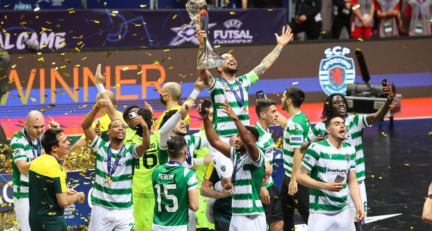Lisabonski Sporting u Krešinom domu do drugog naslova pobjednika futsal Lige prvaka