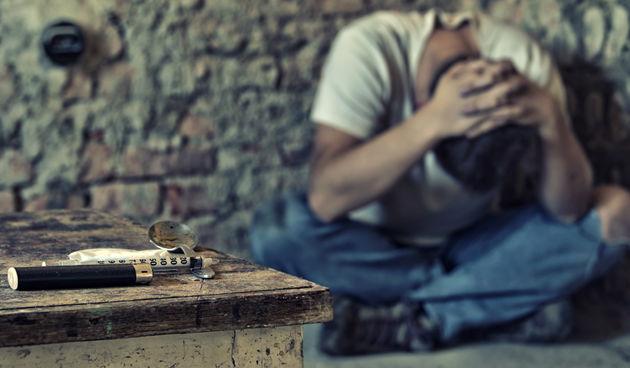 Droga, heroin, ovisnik