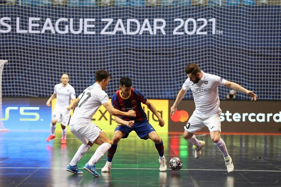 Završnica Futsal Lige prvaka: FC Barcelona - Kairat Almaty 3-2
