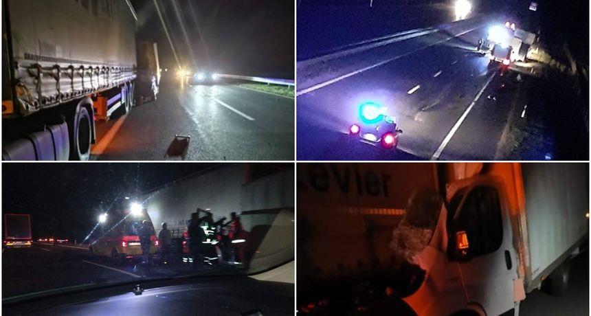 FOTO Teška prometna nesreća na autocesti Goričan - Zagreb: Jedna osoba preminula!