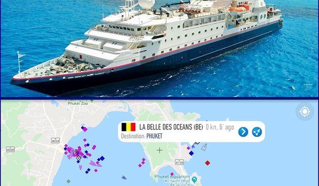 Brod La belle des Oceans