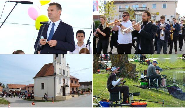 VIDEO Od budnice do natjecanja u ribolovu: Evo kako je proteklo obilježavanje Praznika rada u Goričanu