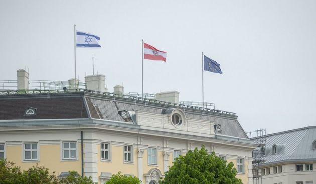 Austrija, Slovenija i Češka izvjesile izraelske zastave - osuđuju napade iz Pojasa Gaze